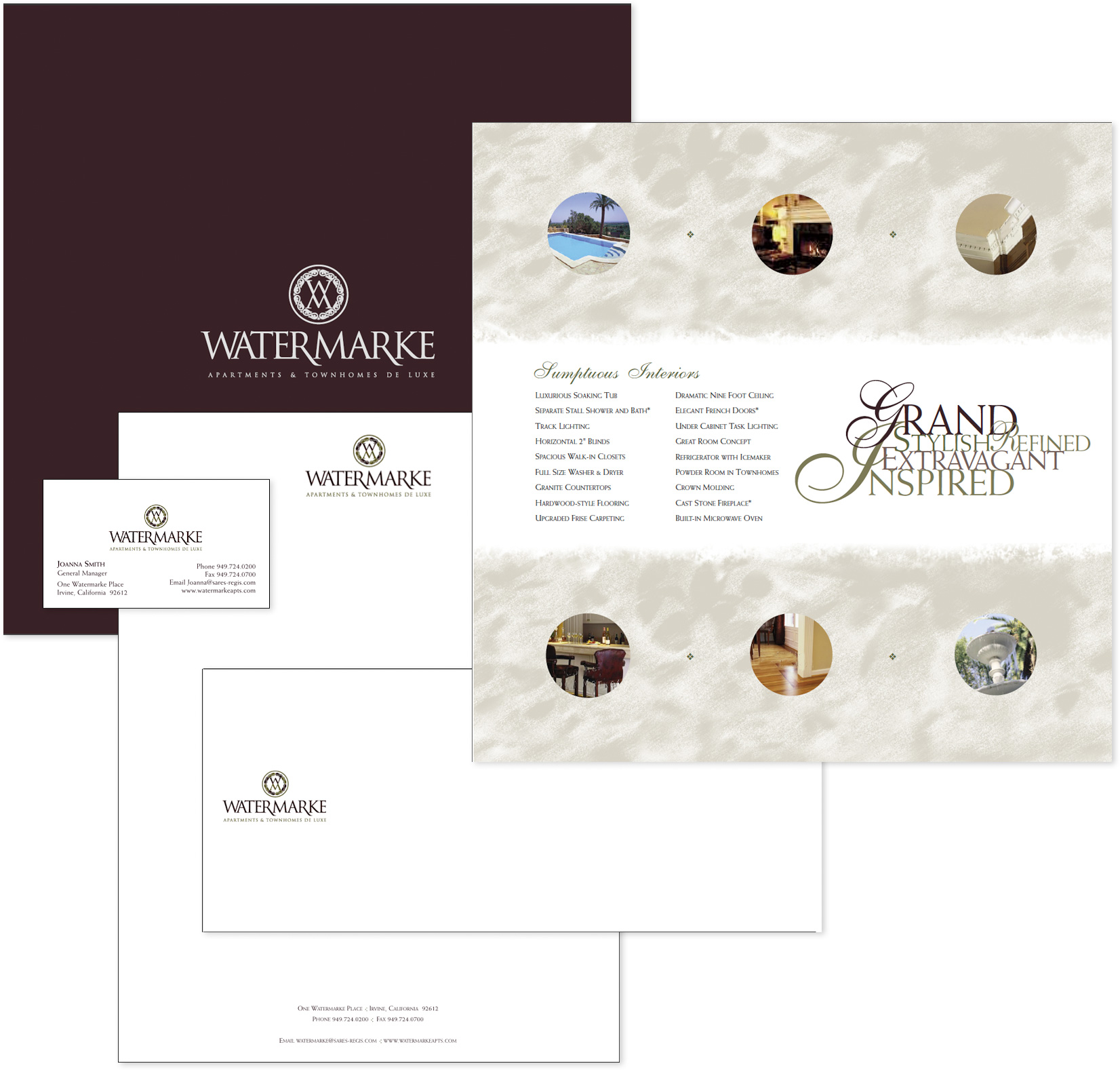Watermarke-Brochure--and-Stationary-System